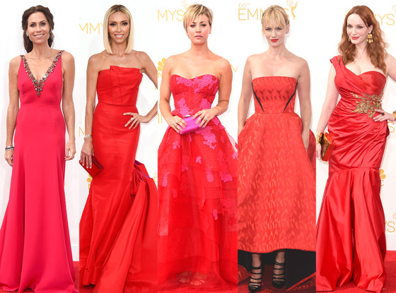 Emmys red