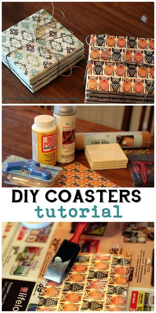 Pinterest Craft Ideas For Christmas Gifts Part - 44: DIY PRESENTS THAT WILL ROCK. Pinterest Diy Coasters