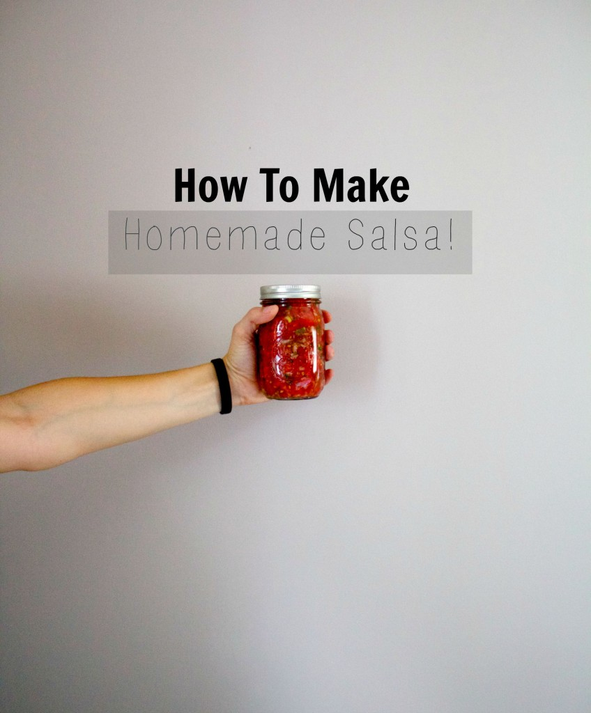 How to make fresh homemade salsa