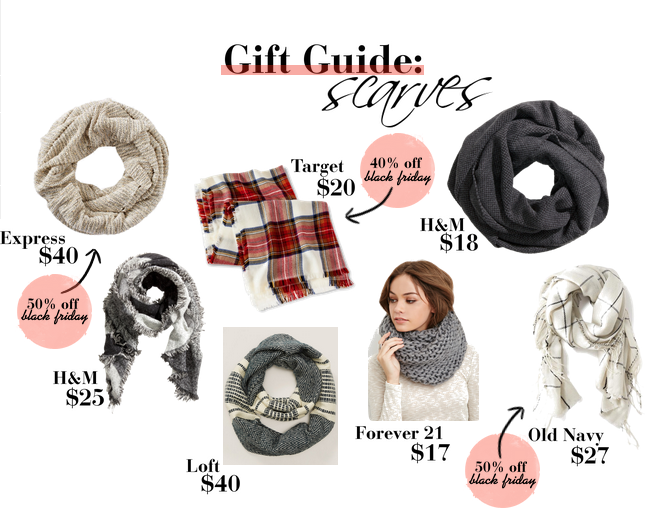 Holiday Scarf Guide