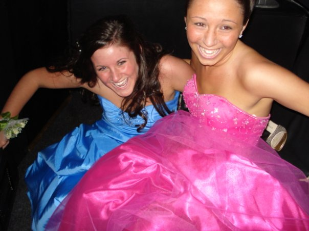 me and kelc prom