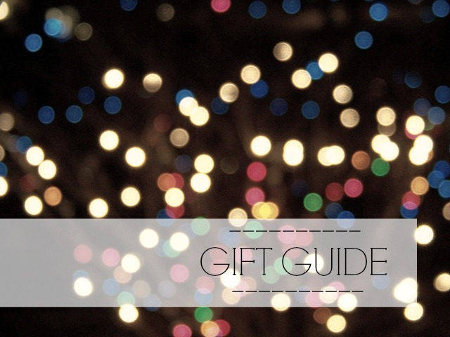 Holiday Gift Guide Cover Photo