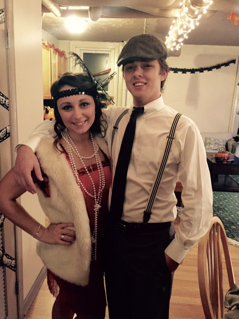 DIY great gatsby couples costume